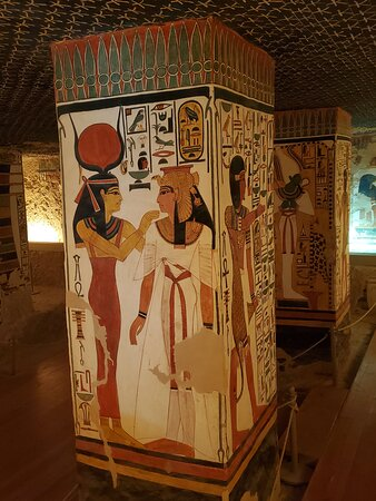 The World Famous Pyramids Sound and Light Show in Giza: Nefertari's Tomb in the Valley of the Queens