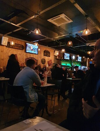 Nelly Foley's Pub along Great Charlotte Street.