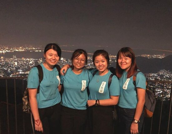 Penang Hill Funicular Ticket: Nice view with besties!!!