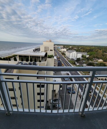 Ocean view from the 11th floor