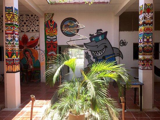 Taganga, Colombia: COURTYARD