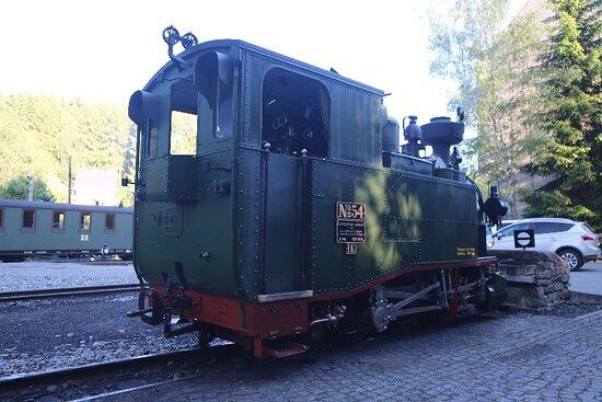 Joehstadt, Germany: Preßnitztalbahn