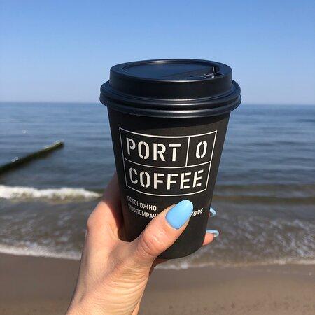 Приличная кофейня на берегу