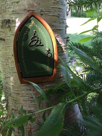 Luckenbooth grounds - Fairy Doors