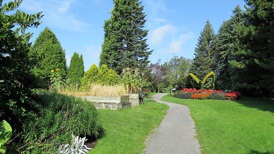 Visite du Jardin Universitaire Roger-Van den Hende (septembre 2017)