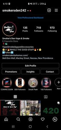 Instagram @smokersden242