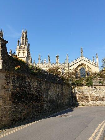 New College Lane, Oxford - April 2021