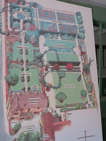 map of the garden...