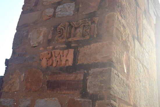 Mehrauli/Qutub Minar: Hindu-Jain temples, delhi  Ruins of hindu-jain temples that were destroyed in 1193 AD by Islamic terrorist Qutb-ud-din Aibak in order to convert those to terrorists' praying center, Quwwatul-islam masjid.