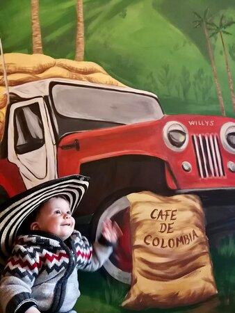 nas najmladji kolumbijac ;)