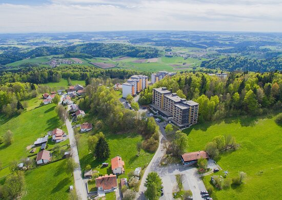 Freyung, Tyskland: Luftaufnahme