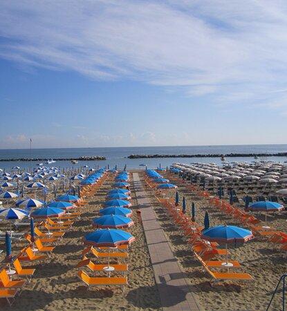 Spiaggia privata Les Bains 89