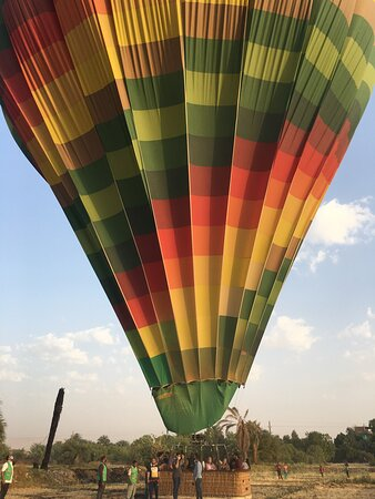 Sunrise VIP Luxury Hot Air Balloon in Luxor Resmi