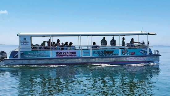 Port Saint Joe, Floride : Come aboard our new cruising catamaran for a sunset cruise or snorkeling trip!