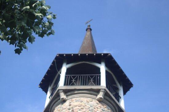 The steeple