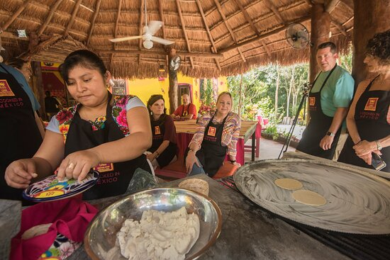 YOU WILL LEARN HOW TO PREPARE YOUR OWN TORTILLAS