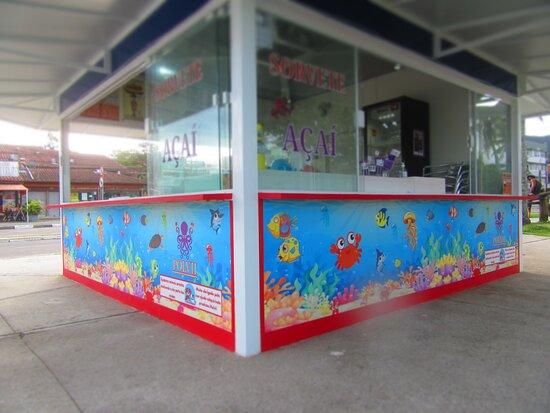 Seu mais novo local em Ubatuba para se deliciar com sorvetes e açaí!