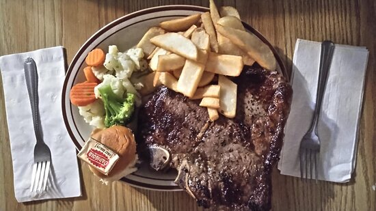 Dyer, NV: Thursday special is steak. It comes with a salad and desert. Call in to pre order if you want this, they limit the orders and usually sell out.
