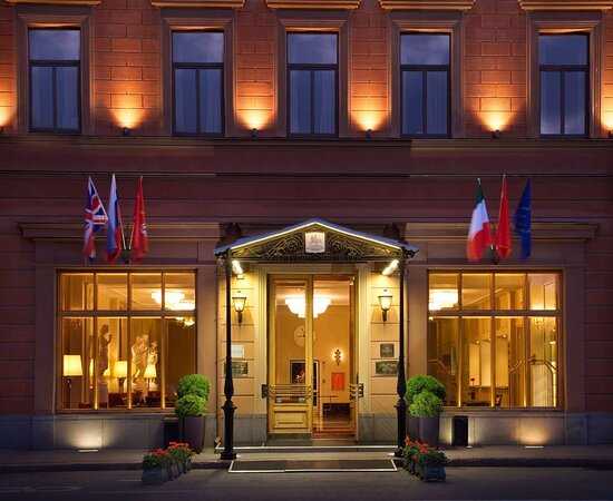 Hotel Exterior at Angleterre Hotel