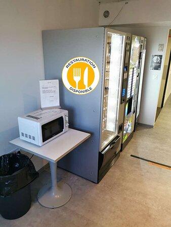 Vente à emporter / Vending machines