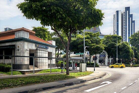 Hotel near Farrer Park MRT station - 6 minutes walk from hotel