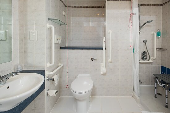 Our accessible en-suites are wheelchair friendly