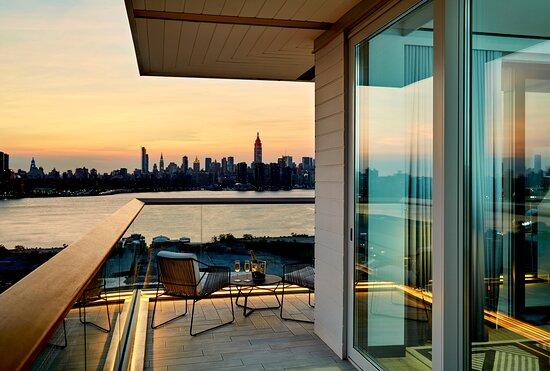 Gotham Corner Suite with Wraparound Balcony