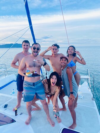 Private Sunset Cruise - Belize Catamaran: BIrthday Celebration for Friend