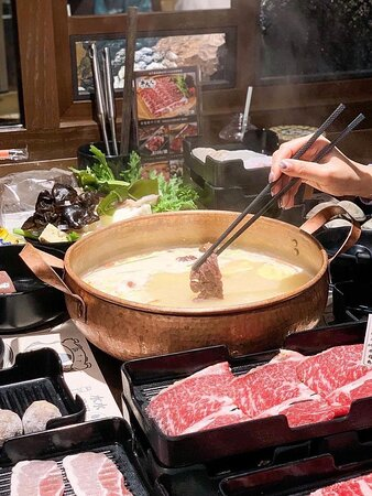 Taiwanese beef hotpot!