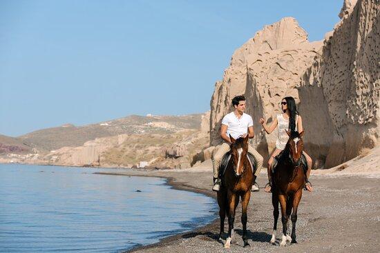 Μεγαλοχώρι, Ελλάδα: Black Sandy Beach Tour (Eros)