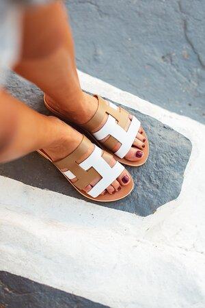 Handmade :Leather Sandals