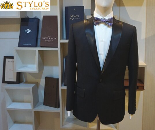 One nice Tuxedo  by Stylo's Collection.  We offers top-notch quality tailoring since over two decades. 👔 🤵  Visit our store for high quality and fashionable suits, tuxedos and shirts or order online or contact us for business partnership. 😀  WhatsApp/ Ph : +66 (0) 865 373 888, +66 (0) 897836661 Email: styloitbkk@gmail.com Website: www.stylocollection.com #Styloscollection #Premium #premiumquality #Cavani #Luxury  #Tuxedo #Tuxedo #Stylo #GQ #Bespoke #Master_Tailor