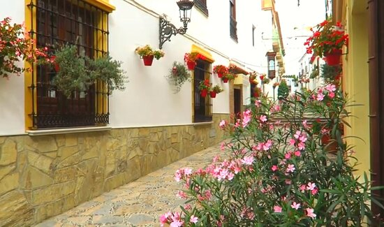 The Centro Historico de Estepona is jam-packed with pretty spots