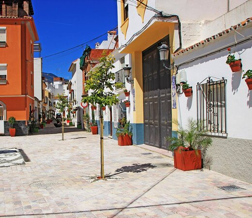 Estepona Town is so beautiful wherever you look