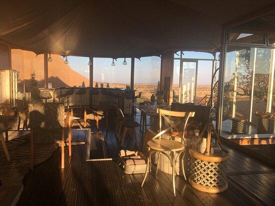 Usakos, Namibia: Dining and bar area
