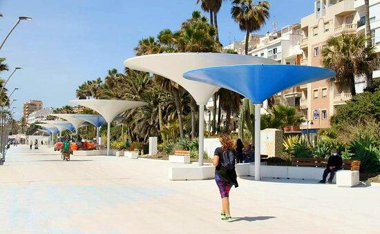 Paseo Marítimo de Estepona, newly renovated, Spring 2021