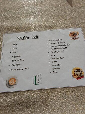 Castrocielo, Italia: La colazione del Liolà