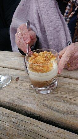 honeycomb cheesecake....mmmmmmmmmmmmmmmm