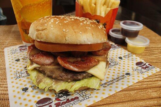 La deliciosa hamburguesa Patagonia
