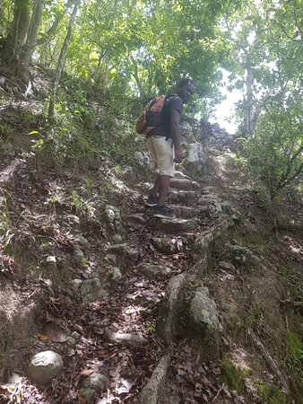Nevis: Saddle Hill Hike/Walk