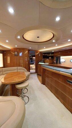 Princess V65 open motor yacht 9