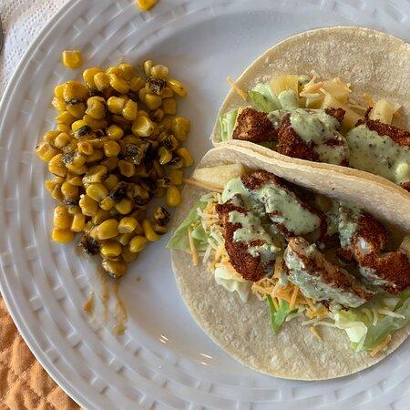 Washington: Blackened halibut tacos