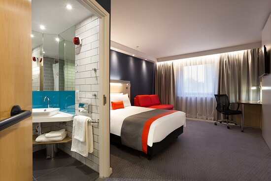 Our double accessible rooms are spacious and well equipped