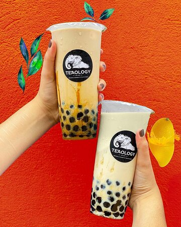 Silky Oolong 🍃 và Milky Mangolden 🥭  📝 After our taste panel's feedback, we're more enlightened on how we should fine-tune the last touch of our recipes.  All we have to say now: watch out for our 6 new vegan milk teas.   🥰 Silky Oolong and Milky Mangolden were the ultimate favourite out of our 6 new flavours. Lychee (not pictured) came on a decent 2nd place. TeaOlogy - the finest bubble tea in Norway.