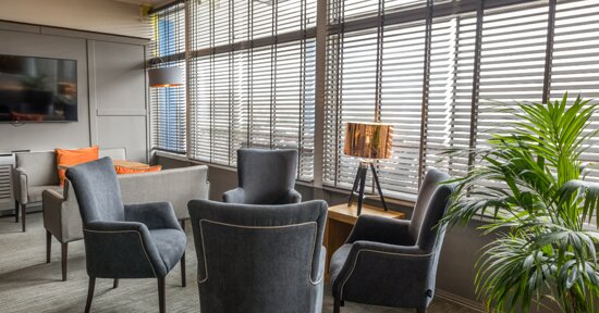 Lounge/ Bar area seating