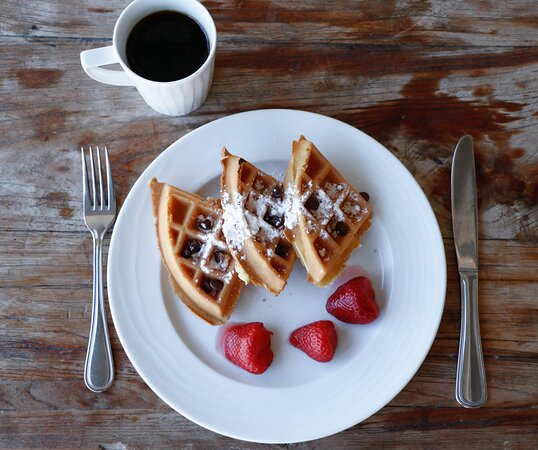 Waffles for breakfast? Yes, please!