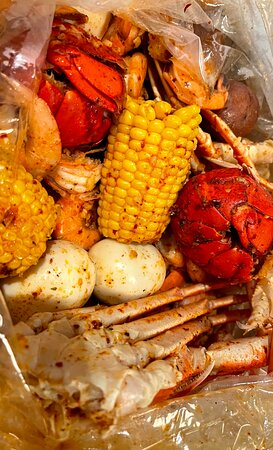 Our boiled seafood combos start at $12.99!