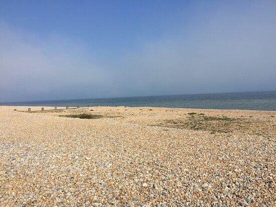 2.  Pett Level Beach, Pett Level, East Sussex