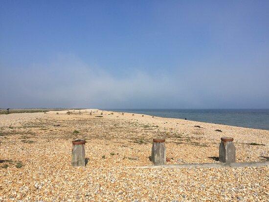 3.  Pett Level Beach, Pett Level, East Sussex