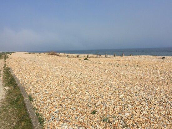 4.  Pett Level Beach, Pett Level, East Sussex